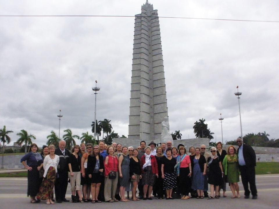 Jose Marti Memorial group shot
